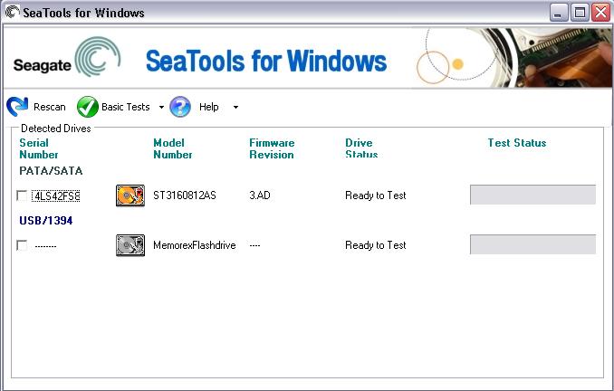 SeaTools 1.4.0.7