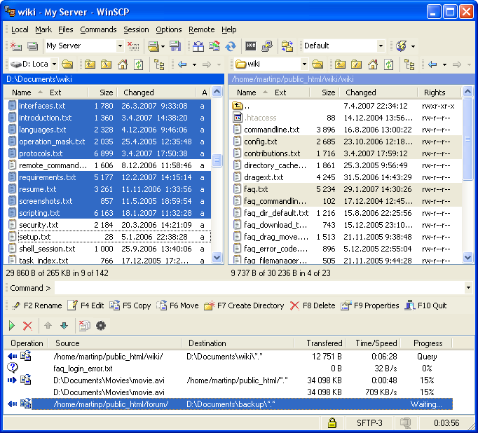 WinSCP 5.17.10