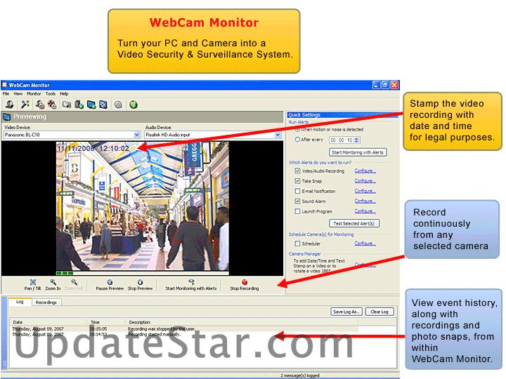 WebCam Monitor 6.22
