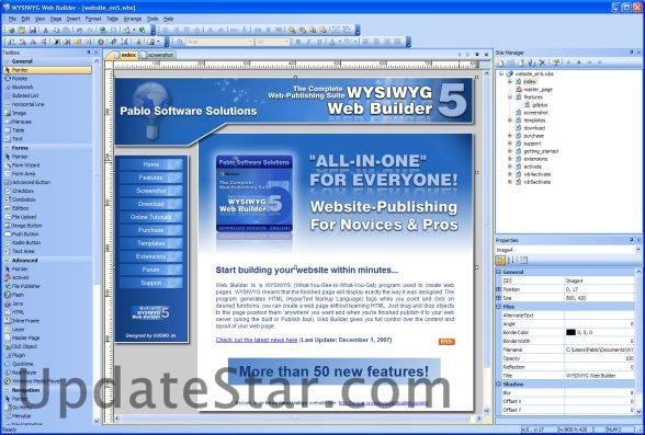 WYSIWYG Web Builder 15.1.0