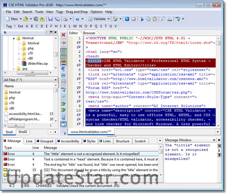 CSE HTML Validator Professional 18.0200