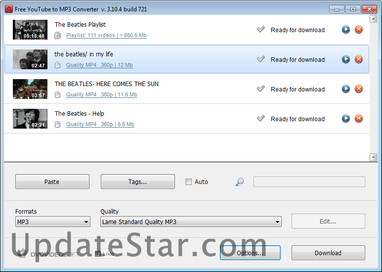 Free YouTube to MP3 Converter 4.1.79.613