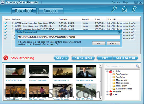 Streaming Video Recorder 6