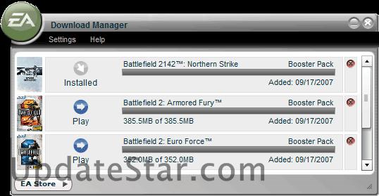 EA Download Manager 7.2.0.32