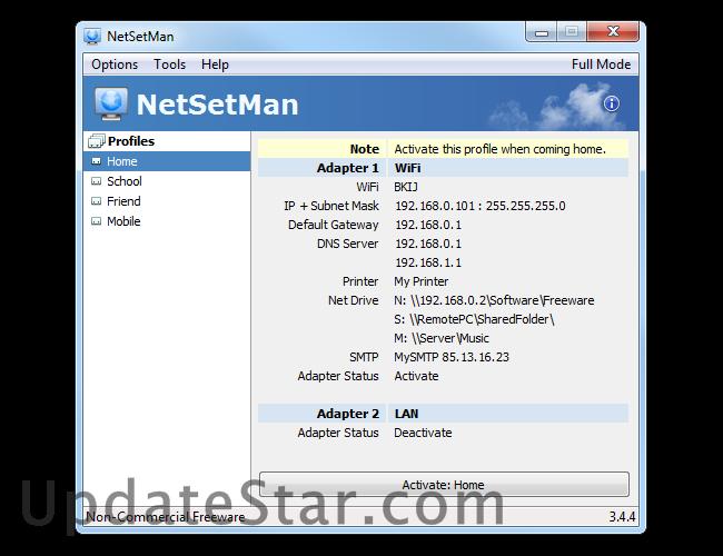 NetSetMan 5.0.6