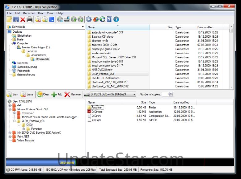CDBurnerXP 4.5.8.7041
