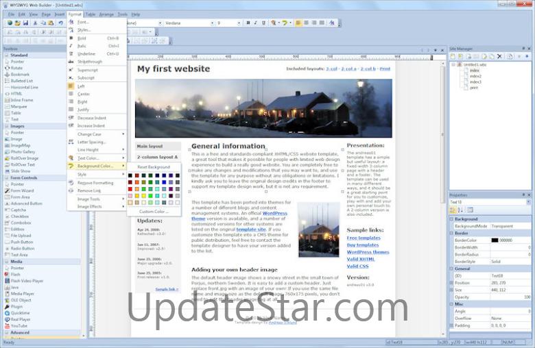 WYSIWYG Web Builder 12.5.1