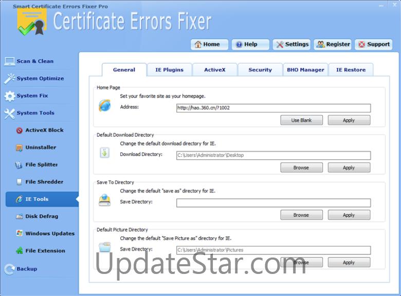 Smart Certificate Errors Fixer Pro