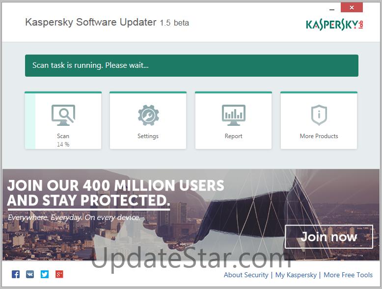 Kaspersky Software Updater 2.0.1.65