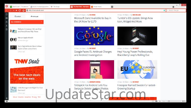 Vivaldi Browser 2.11.1811.38
