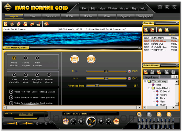 AV MUSIC MORPHER GOLD 4.0.68 TÉLÉCHARGER