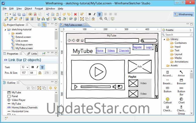 WireframeSketcher 6.2