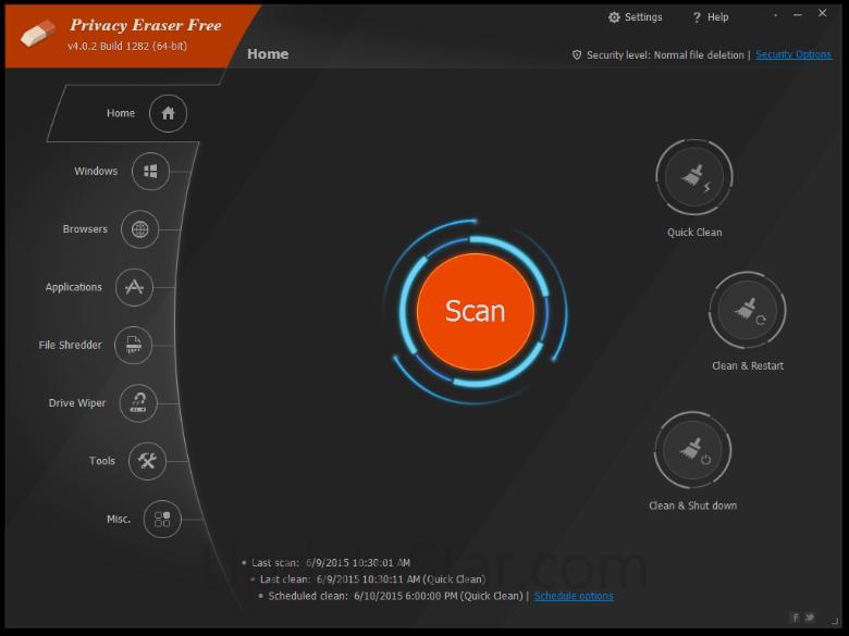 Privacy Eraser Pro 9.95