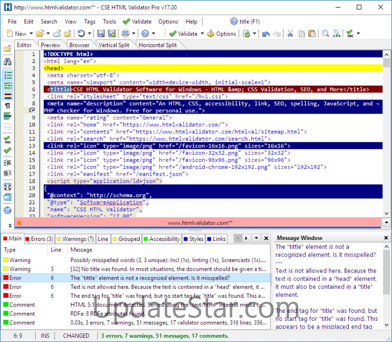 CSE HTML Validator Professional 18.321