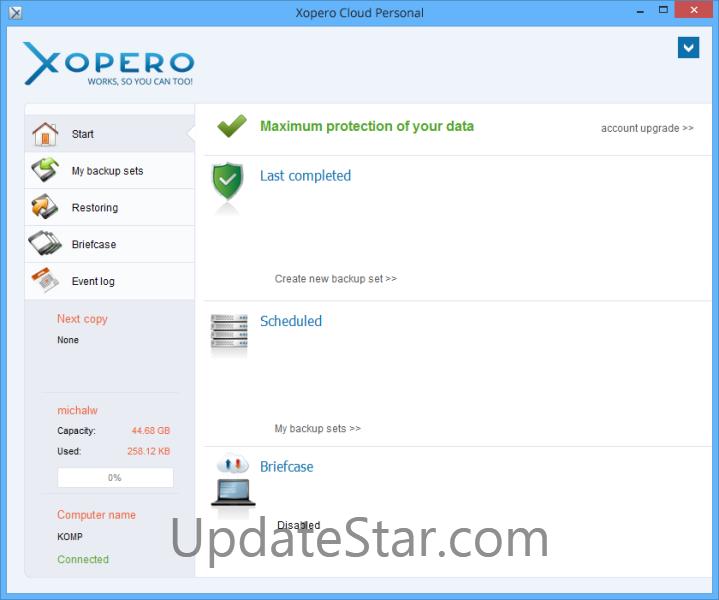 Xopero Cloud Personal 4.0.0
