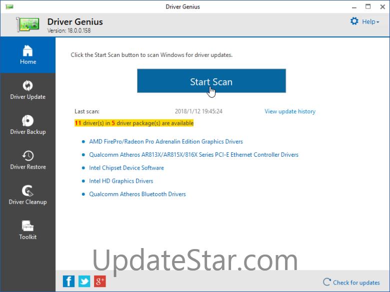 Driver Genius Professional Edition 19.0.0.147