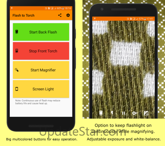 Best magnifying glass Flash to Torch 1.8.6