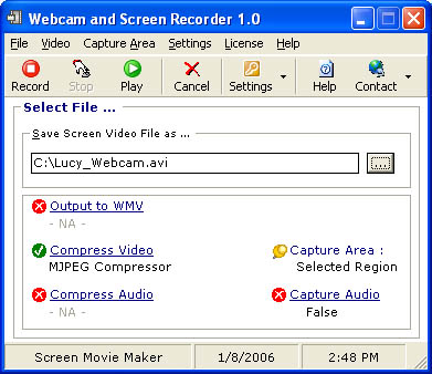 Webcam and Screen Recorder 8.0.458