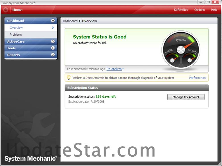 System Mechanic 19.5.0.1