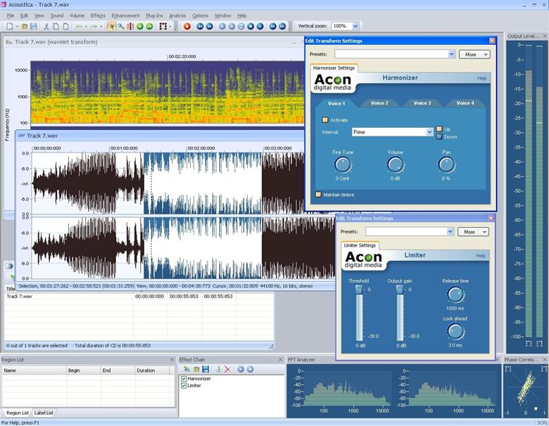 Acoustica 7.3.3