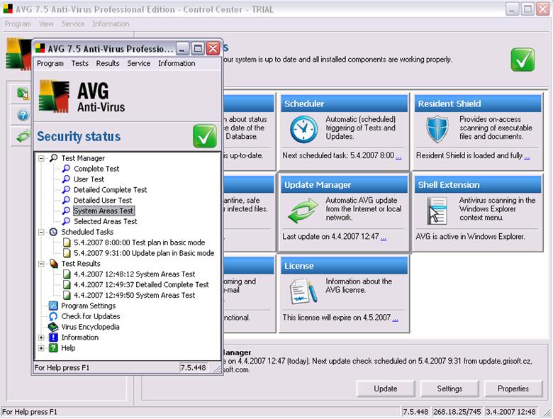 AVG Anti-Virus 3544