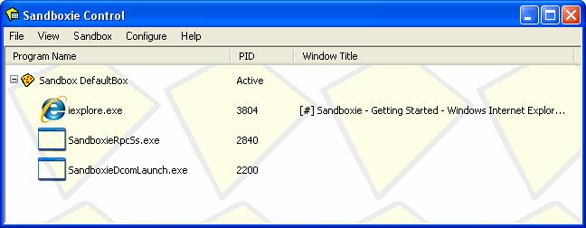 Sandboxie 5.31.6